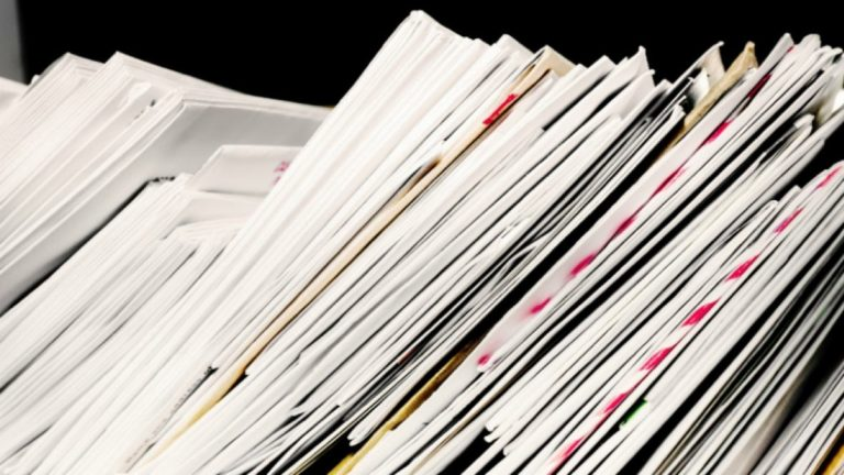 Print & Mail Documents at Month End